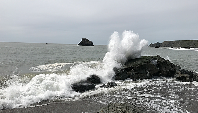 Where The River Meets The Ocean – Jenner, California
