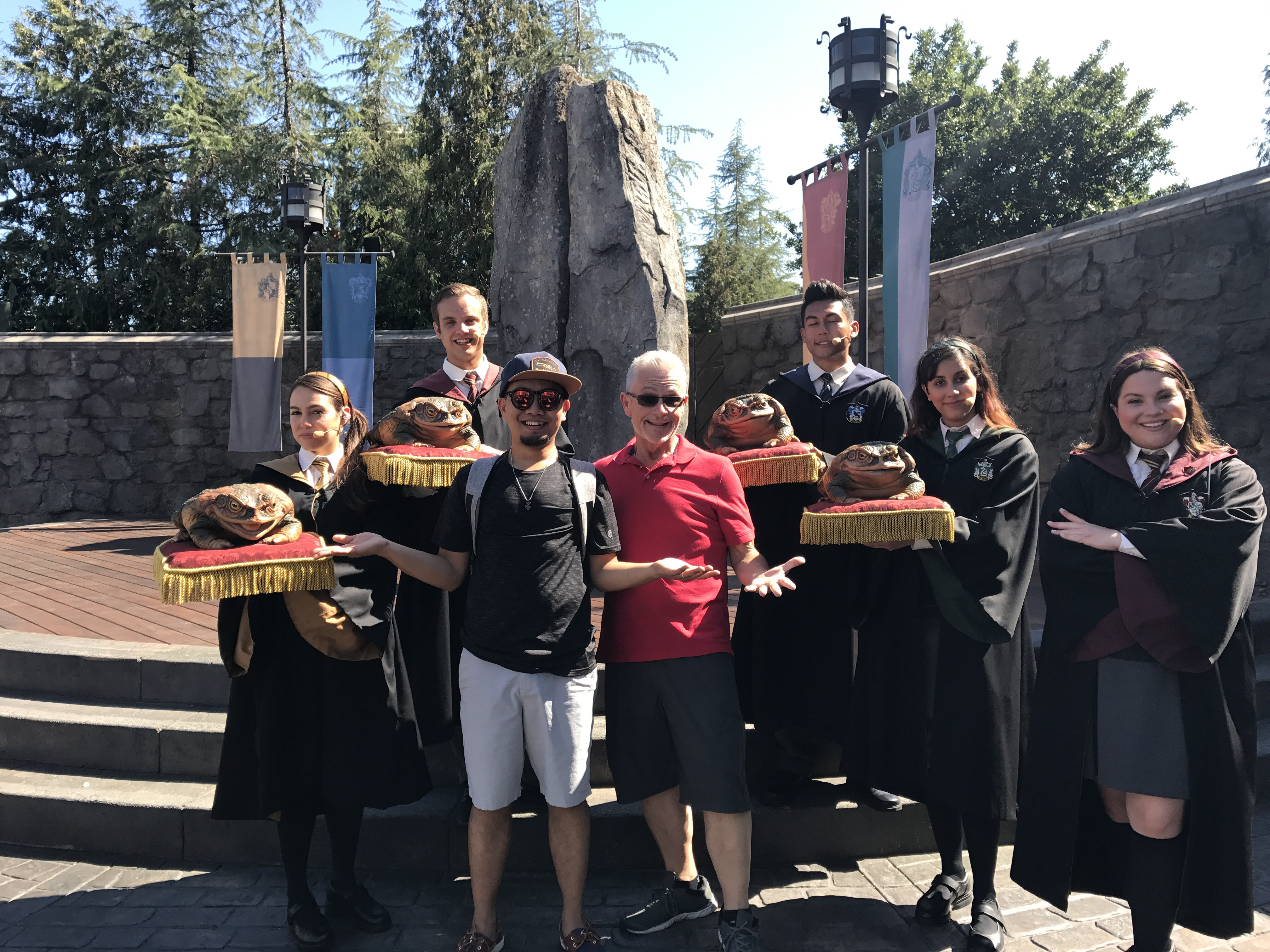 G&D with The Hogwarts Frog Choir