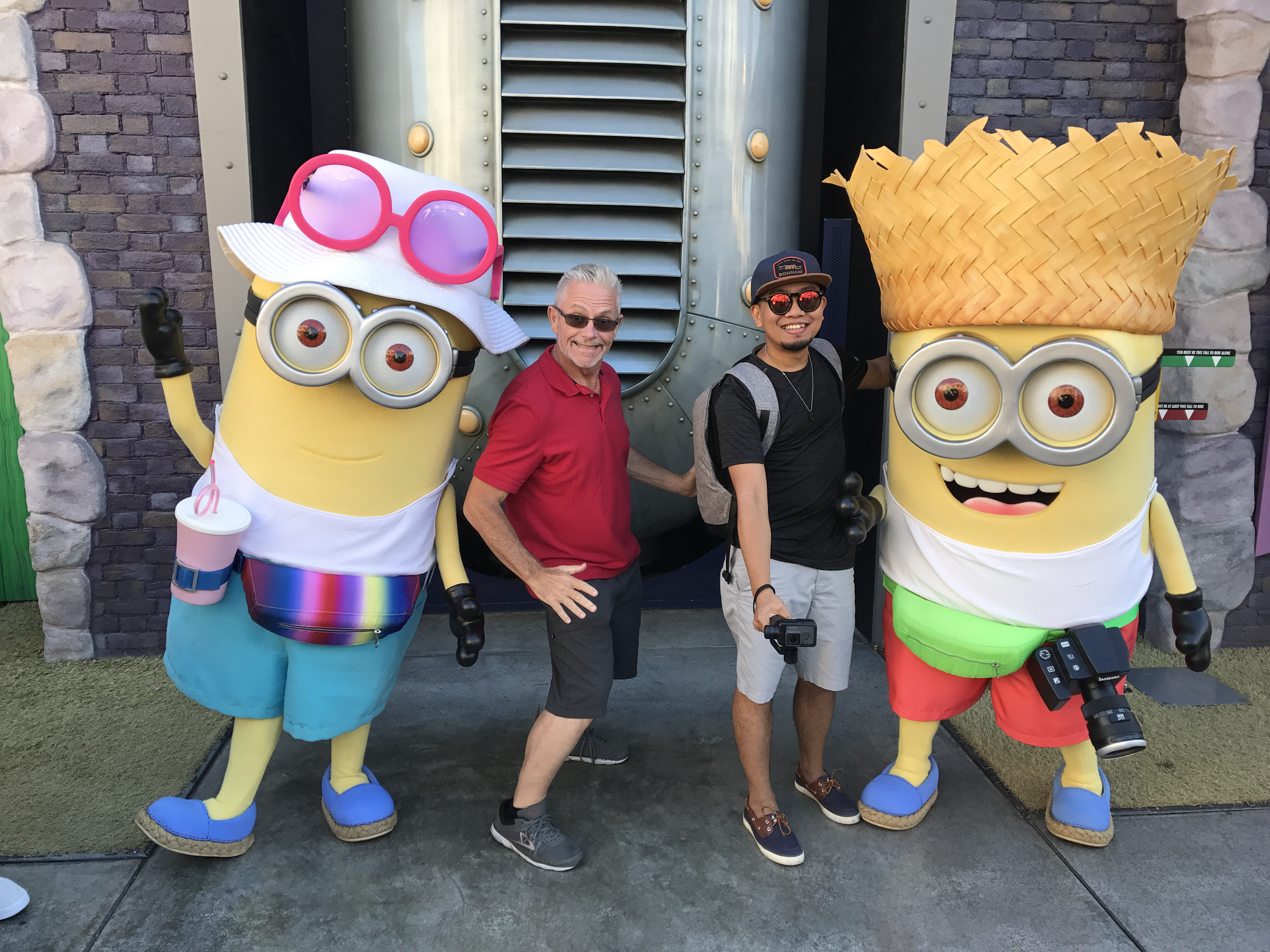 G&D with Tourist Minions