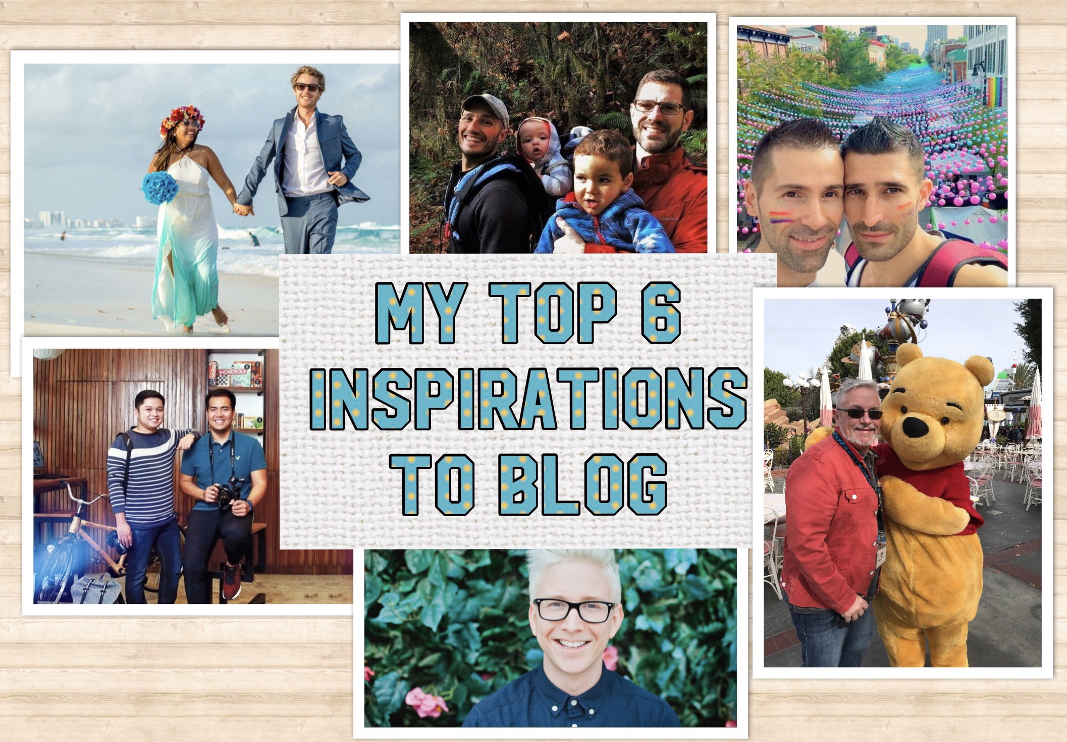 Best Bloggers- My Top 6 Inspirations