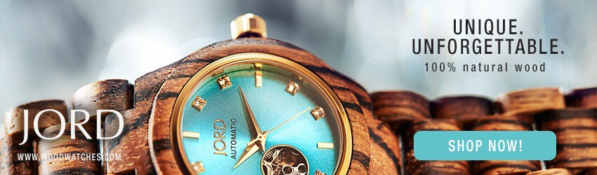Your Time is Now- JORD Wood Watch + Giveaway