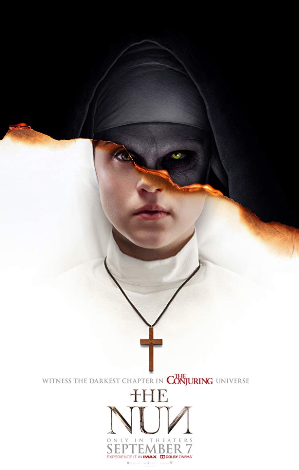 "Watched ""The Nun"" at Director's Club Cinema - SM Aura Premier"