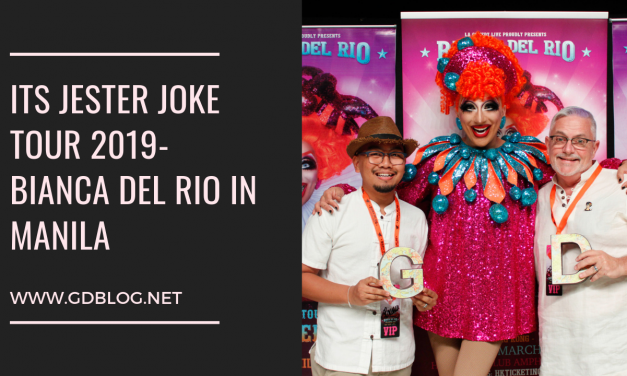 Its Jester Joke Tour 2019 | Bianca Del Rio in Manila