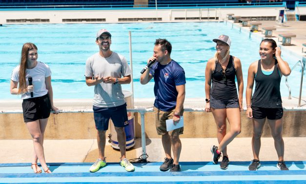 2019 Red Bull Cliff Diving World Series Divers Orlando Duque, Rhiannan Iffland, and Xantheia Pennisi Share Secrets of Diving with Philippine National Diving Team