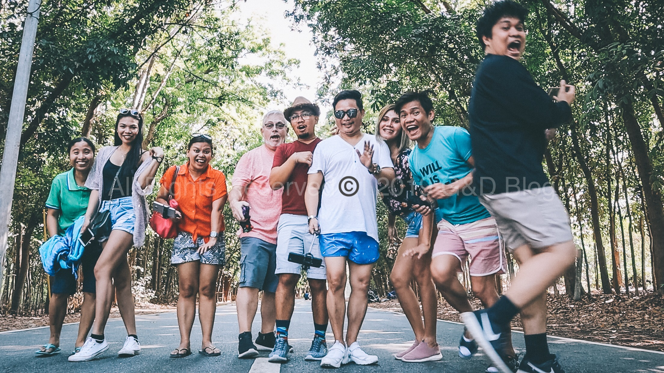 GD with LGBTQA+ Content Creators PH in Man-made Forest