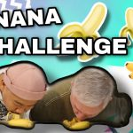 CHALLENGE ACCEPTED! No Hands Banana Eating Challenge